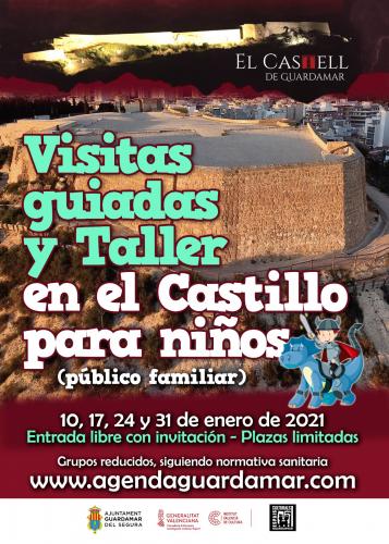 VISITAS GUIADAS AL CASTILLO (INFANTIL)