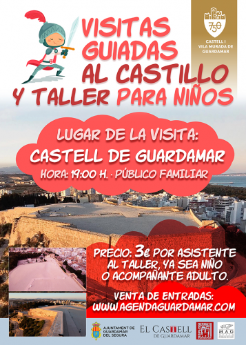 VISITA/TALLER AL CASTILLO PARA NIÑOS