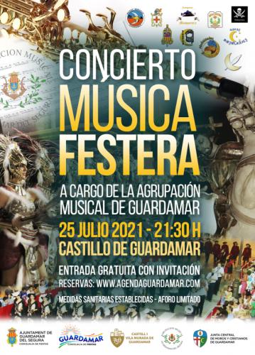 CONCIERTO MÚSICA FESTERA, AGRUPACIÓN MUSICAL DE GUARDAMAR