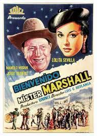 BIENVENIDO MISTER MARSHALL (1952), dirección Luis García Berlanga